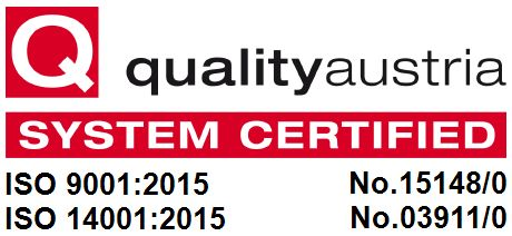 Quality Austria Certification Logo